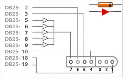 diagram build your own snes adapter for parallel port super nintendo super nintendo controller wiring diagram at crackthecode.co